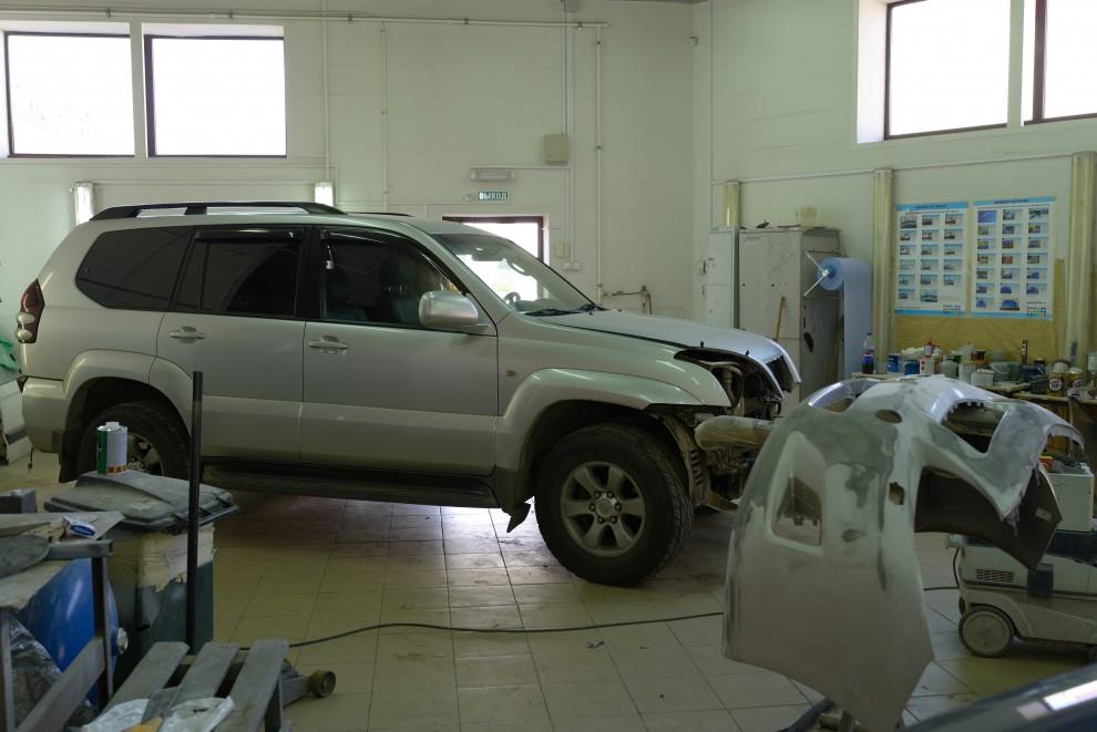 Кузовной ремонт в Санкт-Петербурге
