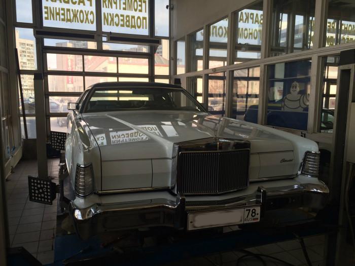 Ремонт ретро автомобиля Lincoln Continental