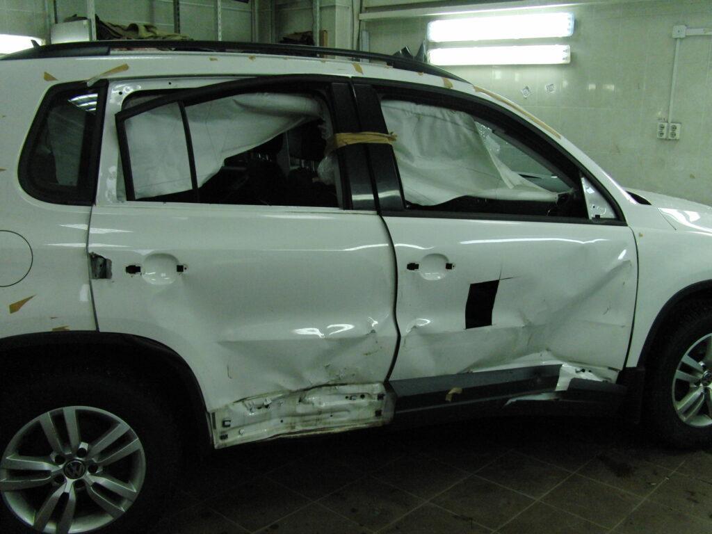 Кузовной ремонт VolksWagen Tiguan