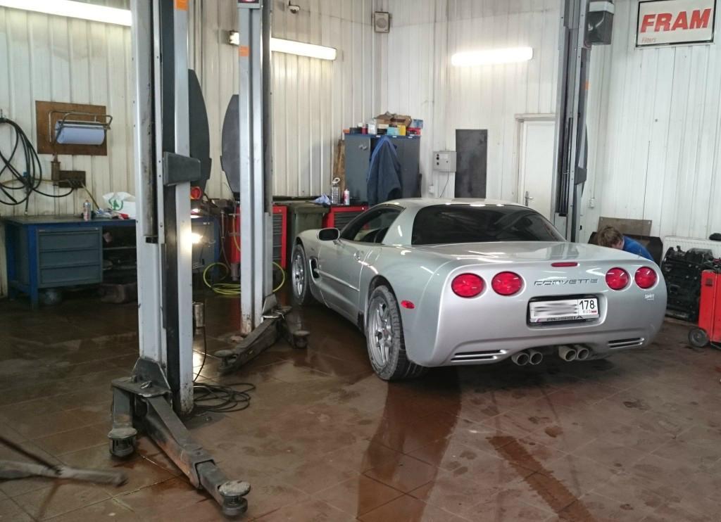 Сервисное обслуживание Chevrolet Corvette C5