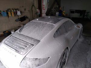 Мойка Porsche 911